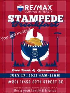 Annual Stampede Breakfast